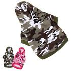 pet clothes for small dogs winter Camouflage Coats jacket dogs pets clothing rop