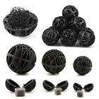 10pcs Biological Sponge Fish Tank Filter Aquarium Bio Balls Black Practical US