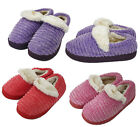 Womens Winter Fur Lining Warm Outdoor Indoor Ankle Bootie Slipper Shoes House