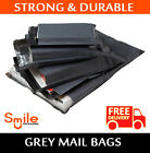 All Sizes 57mu Grey Mailing Bags Postal Postage Post Mail 6x9 9x12 10x14 17 x 24