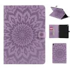 KT SUNFLOWER Magnetic Premium Slim Folding Cover Case Stand For Tablets Purple