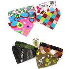 Soft Cotton Dog Collars Bandanas Pet Puppy Neckerchief Scarf for Small Large Dog