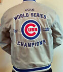 2016 Chicago Cubs World Series Champs Twill Jacket JH Design  IN STOCK SMALL