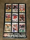 VINTAGE NFL FOOTBALL SUPERSTARS SI SPORTS ILLUSTRATED POSTER PATYON ELWAY MARINO