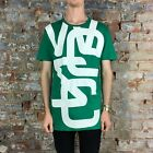 WESC Overlay Biggest - Cactus Green Casual T-Shirt New - Size: M