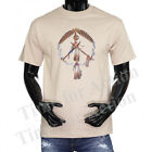 Native American Chief Indian Peace Pipes Graphic T-shirts.