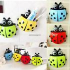 Cute Ladybug Design Popular Suction Tooth Brush Toothpaste Holder NC89