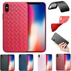 New Ultra Thin Shockproof Silicone Gel Case Cover For Apple iPhone X 8 7 6 Plus