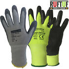 Cut Level 5 Anti Cut Proof Resistant Nylon PU Palm Coated Safety Work Gloves