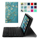 For Amazon Fire 7 7th 2017 Tablet Case Detachable Bluetooth Keyboard Stand Cover