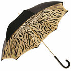 Glamour Tiger Golden Studs Luxury Double Canopy Umbrella by Pasotti