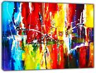 ABSTRACT OIL PAINT ART  REPRINT ON FRAMED CANVAS WALL ART HOME  DECORATION