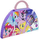 My Little Pony Carry Along Art Set 50 Piece Drawing Painting Travel Case MLP