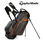 Taylor Made Supreme Hybrid Cart / Stand Bag in Orange / Grey / Black  - New