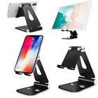 Universal Foldable Adjustable Aluminum Cell Phone Tablet Desk Stand Mount Holder