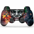Gamepad CONTROLLER + Skin Sticker FOR  PS3 PLAYSTATION 3 BLUETOOTH WIRELESS 3.0