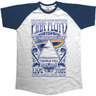 Pink Floyd Carnegie Hall Raglan T-Shirt Official Merchandise