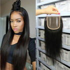"Indian Remy Hair Extensions Lace Closure Topper Straight 4x4"" Top Lace Closure"