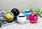 Handsfree phone wireless bluetooth speaker round bass portable mini stereo ON