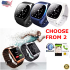 Bluetooth Smart Watch w/Camera Waterproof Phone Mate for Android Phones SIM
