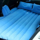 Car Air Bed Travel Camping Inflatable Mattress Back Seat Cushion Two Pillow Pump