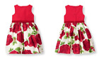 NWT Janie and Jack HOLIDAY Floral Dress Traditonal Chrism...