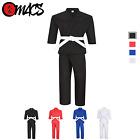 Martial Arts Karate Student Light Weight Uniform/Gi with Pants and Belt