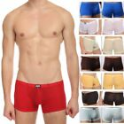 Men's Sexy Transparent Boxers Trunks Underwear Fashion M-XL Sheer See Through