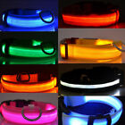 Hot ! LED Dog Pet Collar Flashing Luminous Adjustable Safety