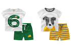 Peijie New Kids T-shirt with pants for boys toddler 100% cotton