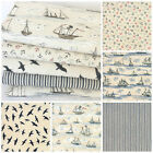 MODA Ahoy me hearties fat quarter bundle & fabrics per half metre 100% cotton