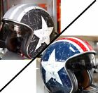 CASCO ORIGINE HELMETS SPRINT REBEL STAR GREY OPACO - REBEL STAR LUCIDO