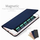 iphone 5 wallet case leather - Magnetic Luxury Leather Card Wallet Flip Case Cover for iPhone X 8 7 6S Plus 5S