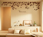 "90"" x 22"" Large Vine Butterfly Wall Decals Removable Vinyl Home Decor Stickers"
