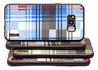 high end cell phone cases - Fits Samsung Galaxy S8 Plus Case Slim High-End Plaid Protector Hybrid Cover