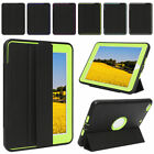 """For iPad 2017 9.7"""" Heavy Duty Leather Rubber Smart-Case Cover New Shockproof"""