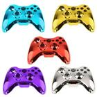 Chrome Replacement Housing Shell Case Kits Set with Buttons for Xbox 360