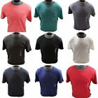 Mens Tommy Hilfiger Denim T-shirt Basic Heather Marled Flag Crew Neck Tee Top