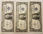1957, 1957-a & 1957-b $1.00 Silver Certificate One Dollar Bills Nice!