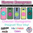 Custom Chevron Monogram Personalized phone case cover for iPhone 7 PLUS 6s 5 etc