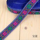 7M National wind Jacquard webbing embroidery Curtains Clothes Accessories