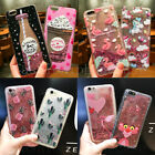 Lovely Bling Dynamic Liquid Glitter Soft Case Cover for Samsung Note 8 S6 S7 S8+