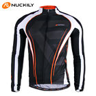 Men Cycling Jersey T-Shirt Sport Clothing Bike Long Sleeve Bicycle Jersey Top US
