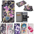 For Sony Xperia L1 XA1 XZ2 Luxury Leather Flip Magnetic Card
