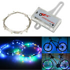 20 LED Bike Cycling Bicycle Rim Lights LED Wheel Spoke Light String Strip Lamp