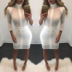 Women Ladies Sexy Fashion Bodycon Evening Party Cocktail Pencil Club Mini Dress