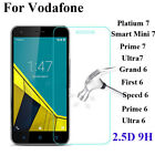 100% Genuine Tempered Glass Screen Protector Film For Vodafone Smart Phone