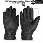 Bikers Motor Cycle Sheep Skin Leather Gloves Military Uniform Touch Screen