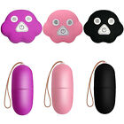 Waterproof Wireless Remote Control 20 Frequency Massager Egg Vibrator Toys