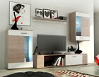 Black & White Living Room Furniture Set Tv Unit Display Stand